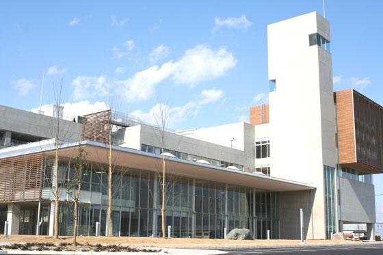 川越町庁舎写真