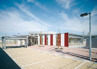 つばめ児童館全景(南)